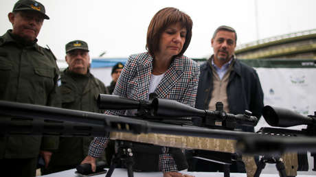 La ministra de Seguridad de Argentina, Patricia Bullrich.