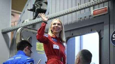 Anastasía Stepánova, una de las participantes del experimento SIRIUS-19
