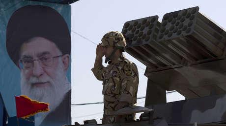 Imagen ilustrativa. Un soldado iraní en Teherán