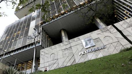 Sede central de la petrolera estatal Petrobras en Río de Janeiro, Brasil.