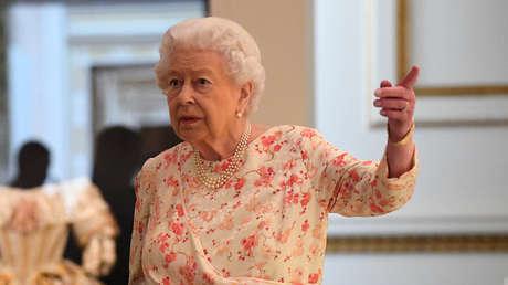 La reina Isabel II en el palacio de Buckingham, Londres, Reino Unido, el 17 de julio del 2019.