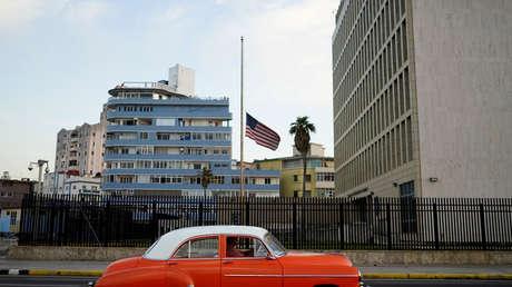 La Embajada de EE.UU. en La Habana, Cuba.