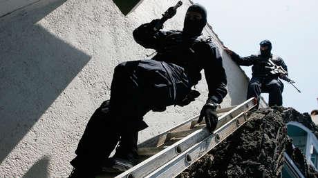 Imagen ilustrativa: Una operación policial en la Ciudad de México.