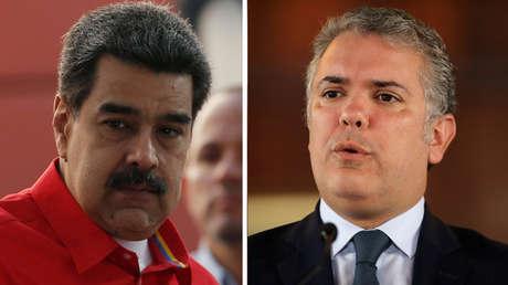 Nicolás Maduro (izquierda) y Iván Duque.