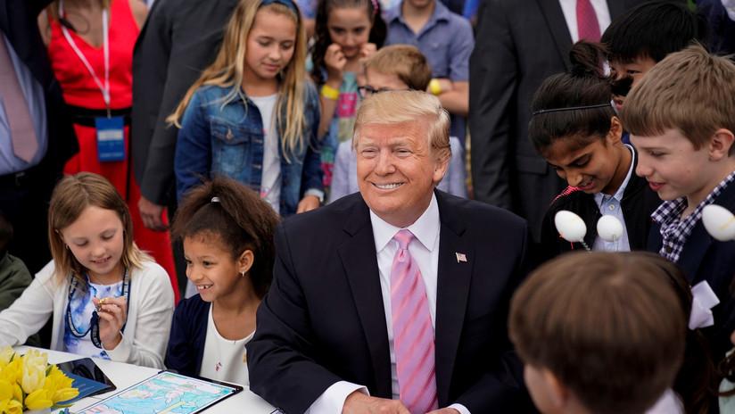 """Trump: """"Las jaulas para niños fueron construidas por la Administración Obama, y yo acabé con su política de separación de menores"""""""