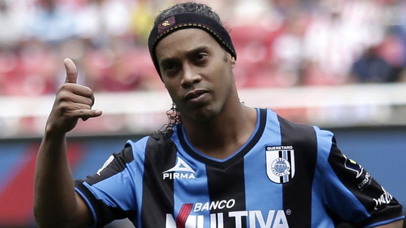 Medios: Confiscan 57 propiedades y prohíben a Ronaldinho salir de Brasil por el impago de una multa millonaria