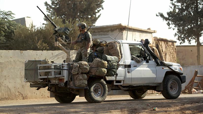 EE.UU. confirma que entrena a un grupo armado insurgente en Siria
