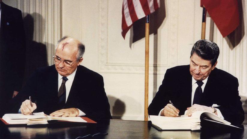 """Gorbachov: """"La salida de EE.UU. del Tratado INF hace que la política mundial se vuelva imprevisible y caótica"""""""