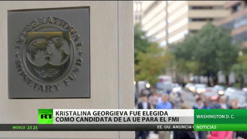 Eligen a Kristalina Georgieva como candidata de la UE para dirigir el FMI