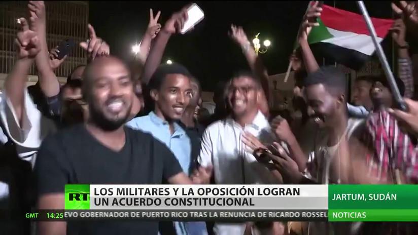 El Consejo Militar y la oposición logran un acuerdo constitucional en Sudán