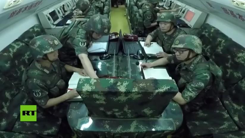VIDEO: Centro de comando nunca antes visto de la Fuerza de Misiles de China