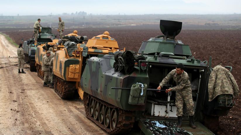 Turquía confirma que llevará a cabo una operación militar en Siria
