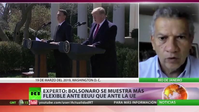"""""""Bolsonaro se muestra más flexible ante EE.UU. que ante la Unión Europea"""""""