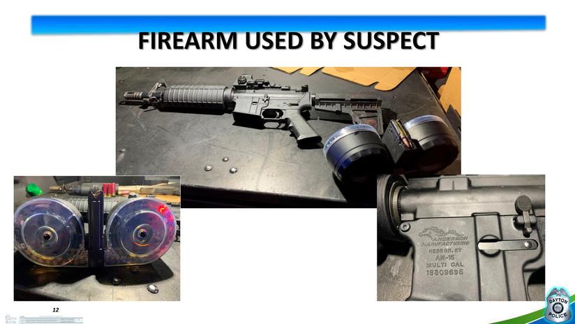 El autor del tiroteo en Ohio compró 'online' el rifle que usó para matar a 9 personas
