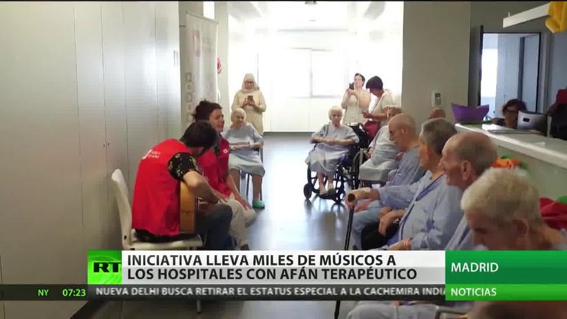 España: Una iniciativa acerca a miles de músicos a hospitales con afán terapéutico