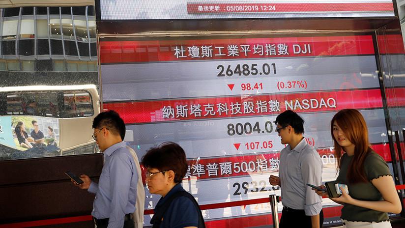 De Nueva York a Shanghái: Wall Street abre con fuertes bajadas que repercuten en todo el mundo