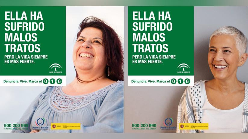 Sonrisas y modelos de agencia: la campaña contra la violencia de género que genera polémica en España