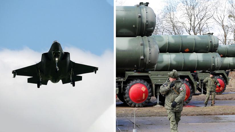 """Erdogan: """"No hay pruebas de que los sistemas antiaéreos rusos S-400 perjudiquen a la OTAN o a los cazas F-35"""""""