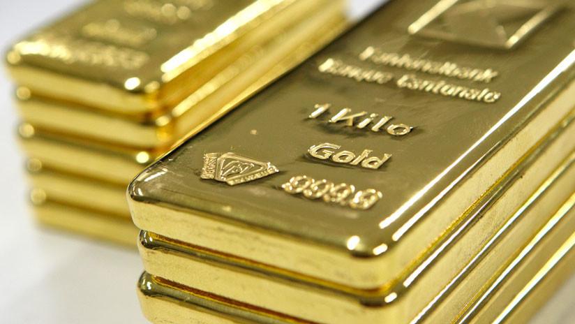 El precio del oro excede los 1.500 dólares por onza por primera vez en 6 años
