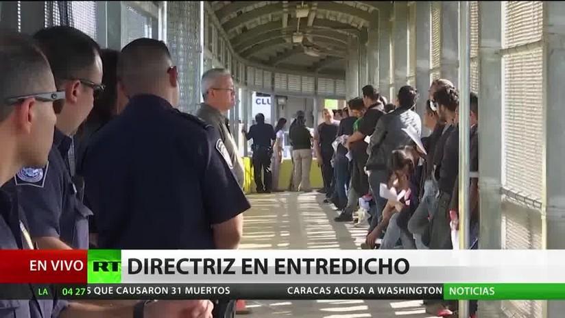 Una ONG impugna la nueva directriz de Trump que facilita las deportaciones de indocumentados