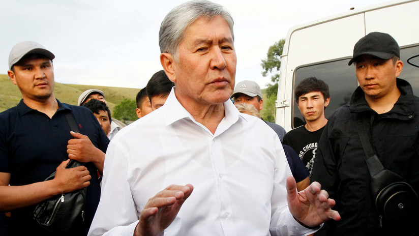 Desmienten que el expresidente de Kirguistán, Almazbek Atambáyev, haya sido detenido