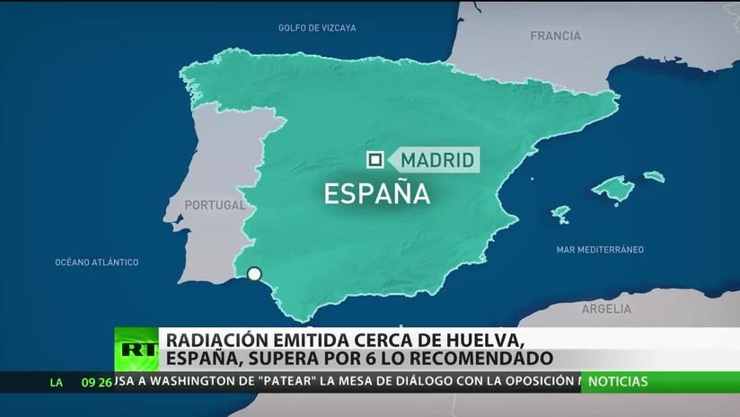 España: Alertan que la radiación emitida cerca de Huelva supera el nivel recomendado