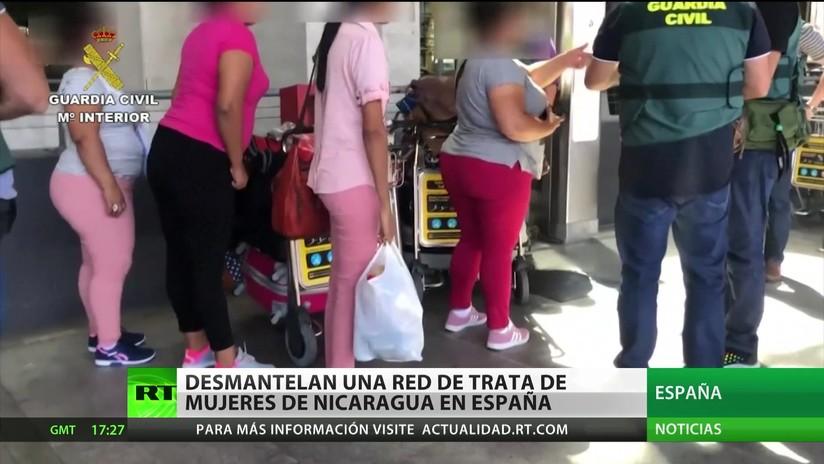 Desmantelan una red de trata de mujeres nicaragüenses en España