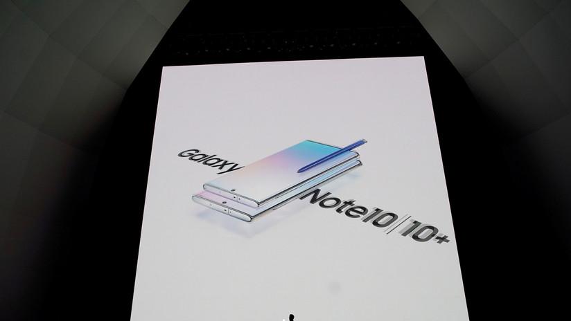 Samsung presenta el Galaxy Note 10, apto para 5G