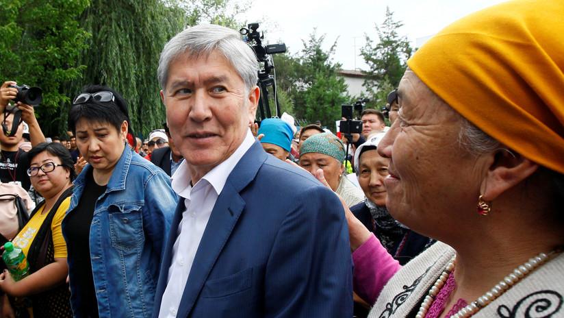 Un muerto y decenas de heridos en el operativo fallido para detener a un expresidente de Kirguistán