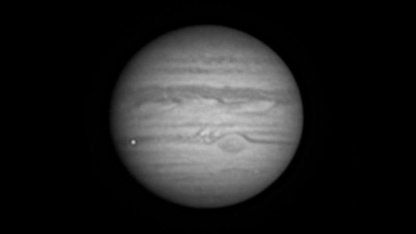 VIDEO, FOTOS: Captan el momento en que un meteorito explota en Júpiter