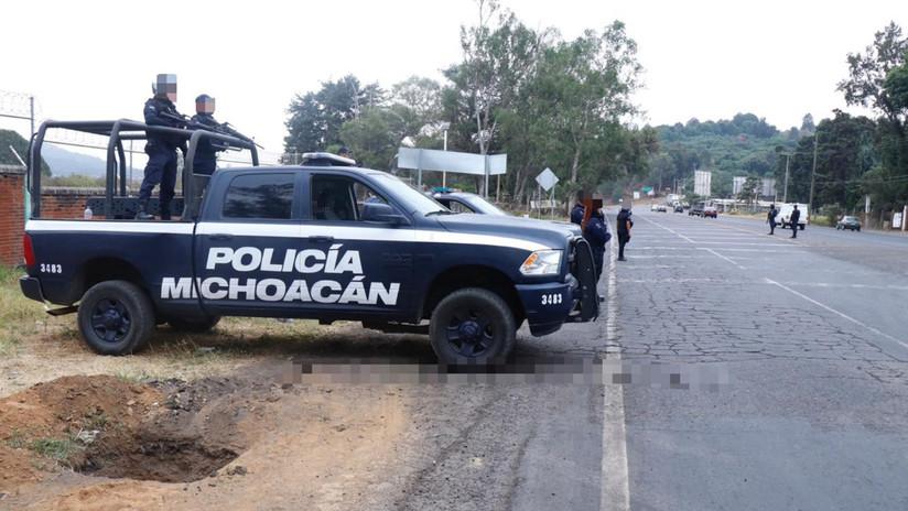 Aparecen 19 cadáveres en el estado mexicano de Michoacán por la guerra del crimen organizado