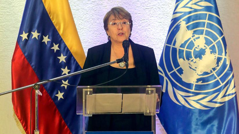 Bachelet condena las sanciones de EE.UU. y teme que afecten los derechos a la salud y a la alimentación en Venezuela