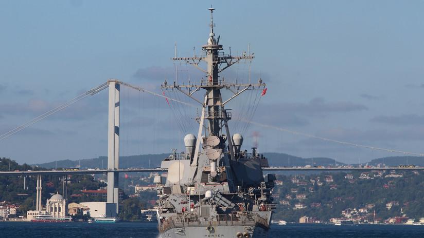 La Armada de EE.UU. envía un destructor de misiles guiados al mar Negro