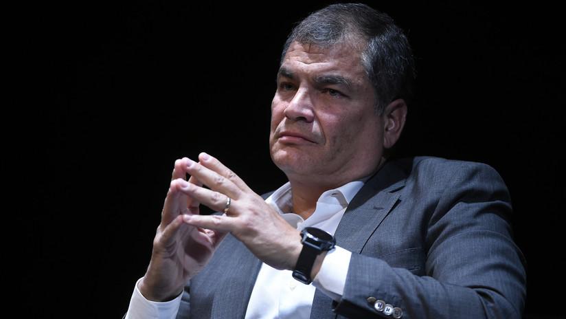 """Correa sobre la orden de prisión preventiva en su contra: """"La guerra judicial es la táctica de la derecha para eliminar a los líderes progresistas"""""""