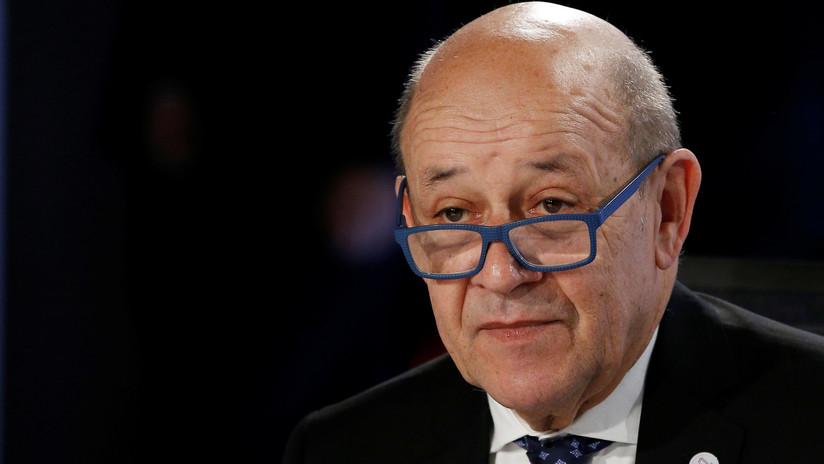 """Francia responde a EE.UU. que """"no necesita ninguna autorización"""" para rebajar las tensiones con Irán"""