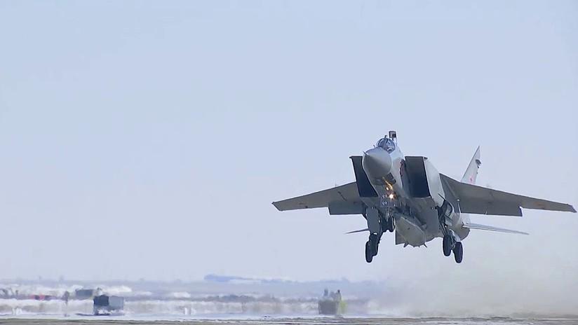 VIDEO: Presentan por primera vez al público los misiles hipersónicos Kinzhal