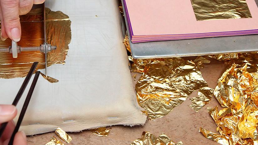 Crean láminas de oro un millón de veces más delgadas que una uña
