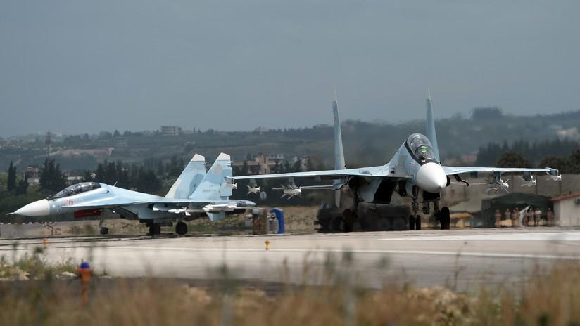 Rusia destruye seis drones de terroristas lanzados contra su base de Jmeimim en Siria