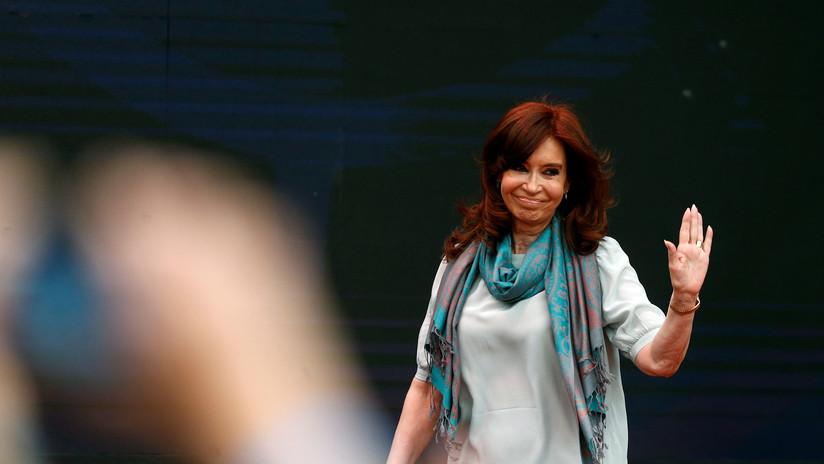 """Cristina Fernández de Kirchner: """"Este resultado es una voz que deben escuchar todos, también el Gobierno"""""""