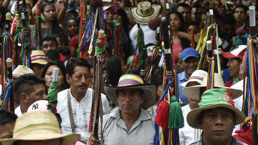 Indígenas colombianos de la región del Cauca se declaran en estado de emergencia ante la ola de asesinatos