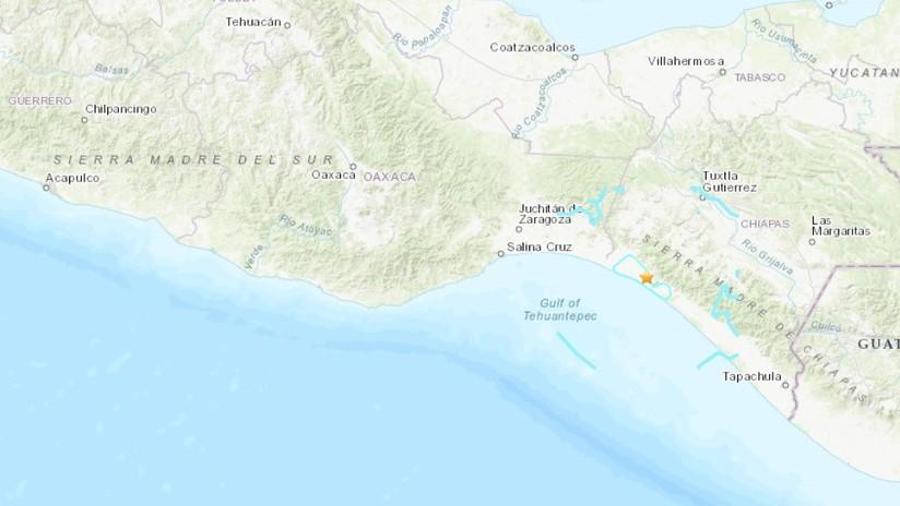 Se registra un sismo de magnitud 5,5 en el estado mexicano de Chiapas