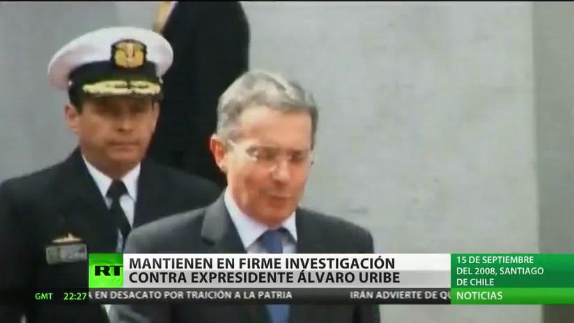 Corte Suprema de Colombia mantiene en firme investigación contra expresidente Álvaro Uribe