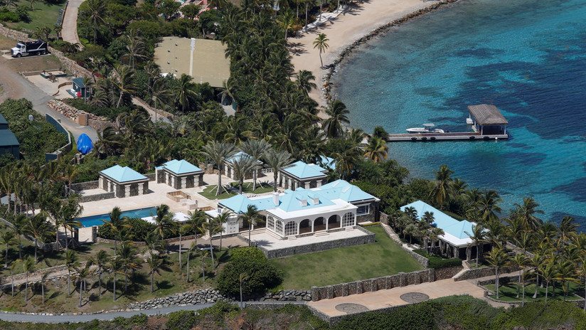 El FBI allana la isla caribeña de Jeffrey Epstein poco después de su aparente suicidio en la cárcel
