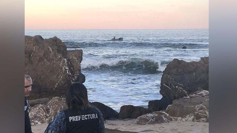 Encuentran el cuerpo del parapentista argentino que falleció tras caer al mar en la costa de Uruguay