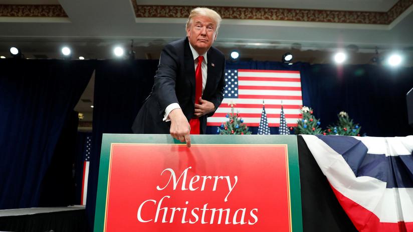 """Trump: """"Retrasamos los aranceles a China para no afectar la temporada de compras navideñas"""""""