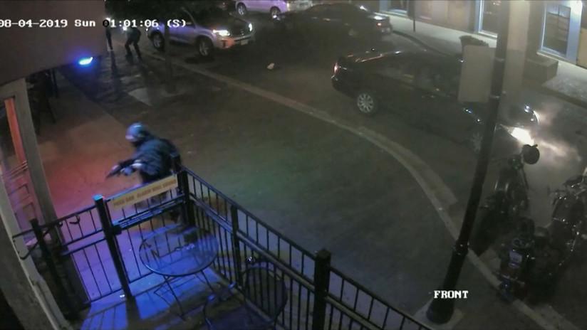 La Policía revela imágenes inéditas y nuevos detalles de la masacre de Dayton (VIDEO)