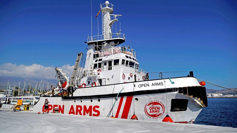 El Open Arms entra en aguas italianas dispuesto a solicitar la evacuación de los inmigrantes