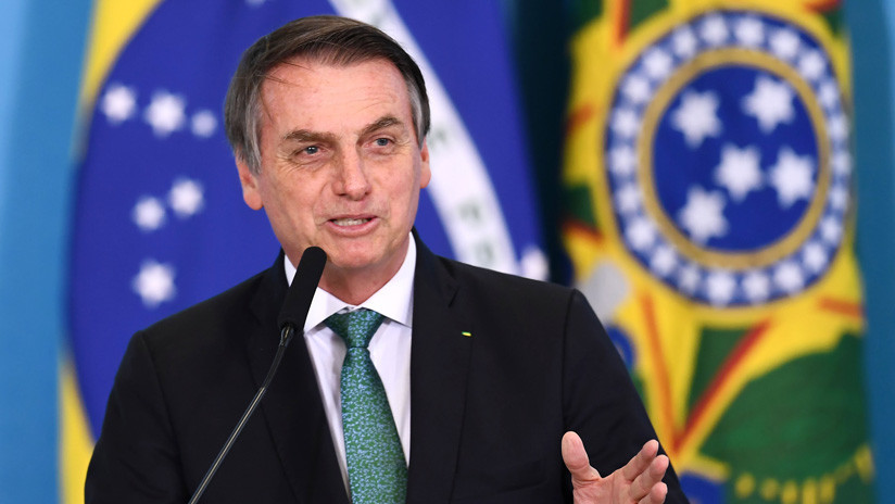 """Bolsonaro dice que """"bandidos izquierdistas"""" comienzan a regresar al poder en Argentina"""