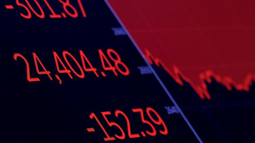El Dow Jones cae en más de 700 puntos en medio de señales de recesión