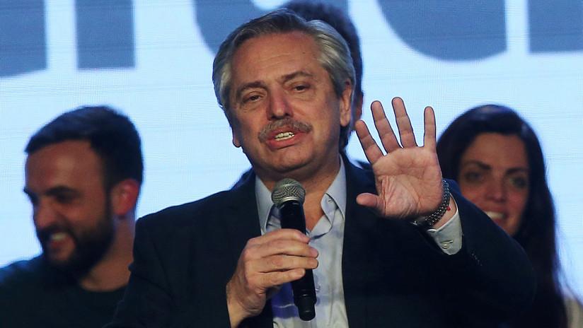 """Alberto Fernández: """"Solo soy un candidato a presidente, es Macri quien maneja la economía"""""""